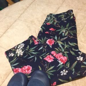 Ralph Lauren Jeans Flowered Capri